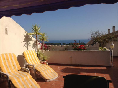 Marbella Golden Mile, Fabulous duplex penthouse in the heart of the Marbella Golden Mile.