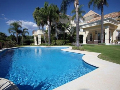 Marbella Golden Mile, Luxury villa located in the exclusive Sierra Blanca area of Marbella spain for sale