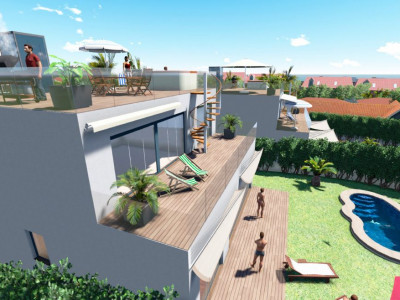Marbella Golden Mile, Exclusive villa development consisting of only nine villas in beautiful surroundings, close to Puerto  Banús Marbella for sale