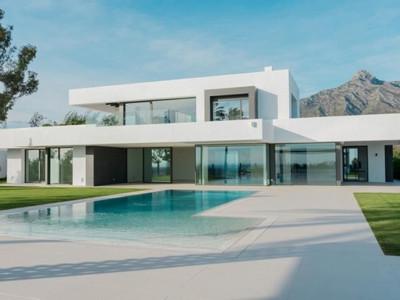 Marbella Golden Mile, Nuevo casa de lujo en la Milla de Oro de Marbella con vistas a la costa y el mar