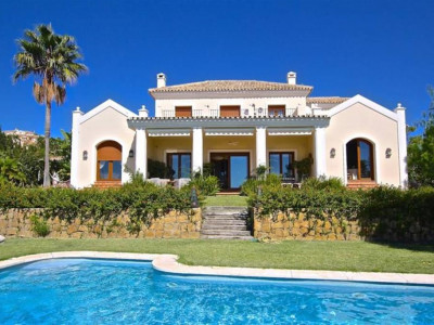 Estepona, Rustic styled villa in the New Golden Mile west of Marbella on the Costa del Sol