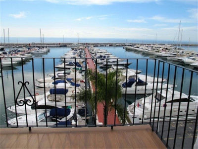 Marbella - Puerto Banus, Frontline apartment property in Puerto Banus with stunning views of the sea and port
