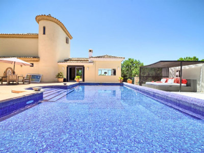 Estepona, Large rustic style villa located in Estepona on the Costa del Sol Spain