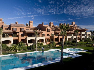San Pedro de Alcantara, Quality ground floor apartment in a luxurious residential project in San Pedro de Alcántara