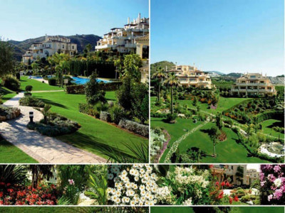 Benahavis, Luxury 2 bedroom apartment for sale in a front line golf development in Benahavís