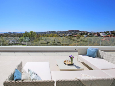 Nueva Andalucia, 3 BEDROOMS PENTHOUSE WITH PANORAMIC SEA VIEWS