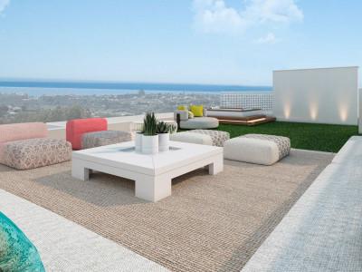 Estepona, Villas modernas con vistas al mar
