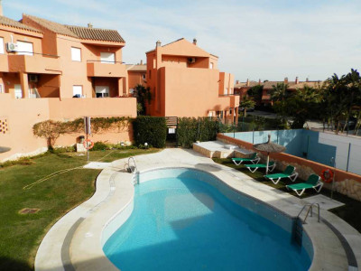 Manilva,SUPERB 3 BEDROOM TOWNHOUSE AT BEACH SIDE