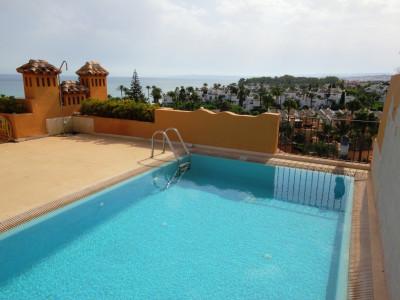 Estepona,FANTASTIC FRONTLINE BEACH DUPLEX PENTHOUSE WITH ROOF TOP POOL AMAZING VIEWS