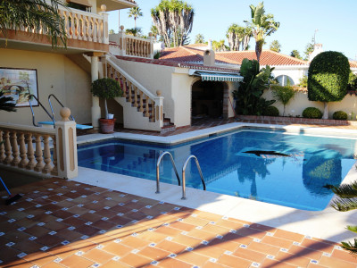 Manilva,Immaculate Villa with Stunning Sea Views