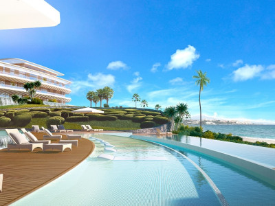 Estepona,LUXURY NEW  BEACHFRONT VILLA  **  AMAZING VIEWS **  HIGHEST SPECIFICATON