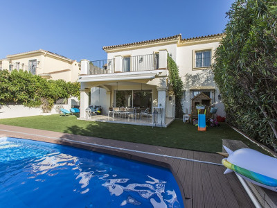 Semi Detached Villa for sale in Elviria - Marbella East Semi Detached Villa - TMRO-R3289156