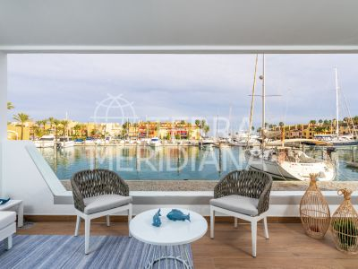 Development in Pier, Sotogrande