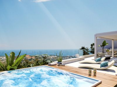Grand View Marbella 7 exklusive Apartments mit Panoramablick