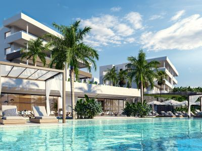 Beautiful new resort of apartments, semi-detached villas and two independent villas in Santa Clara Golf