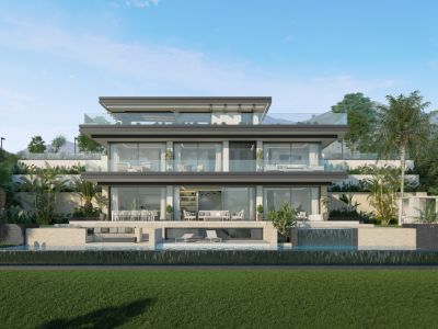 Luxurious new development of only 5 villas in Elviria