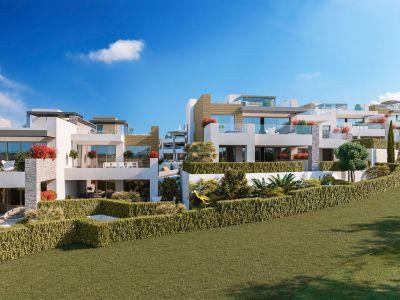 Neubauprojekt von modernen, luxuriösen Apartments direkt am Golfplatz