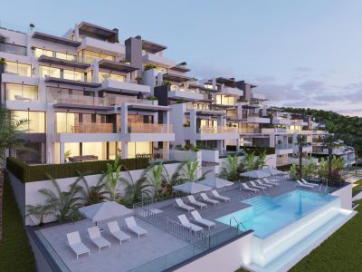 Total privacy in an idyllic setting, apartments and penthouses with spectacular sea views