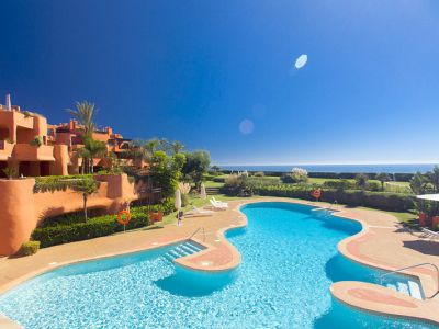 Stunning frontline beach apartments for sale in Los Monteros, Marbella East