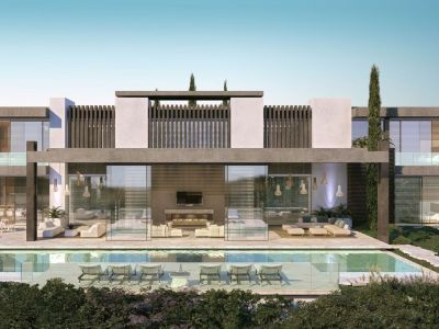 New development of 12 individual villas with amazing sea views situated on the slopes of La Quinta