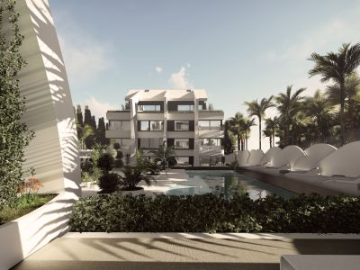 Super modern design apartments and penthouses meters from the beach close to the marina of Cabopino