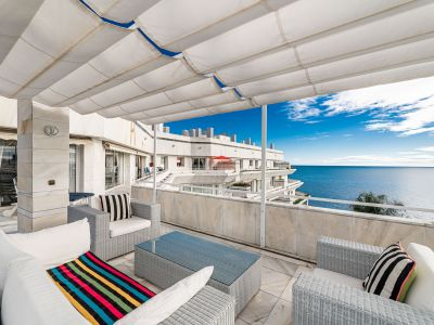 Best beachfront penthouse in Marbella Center