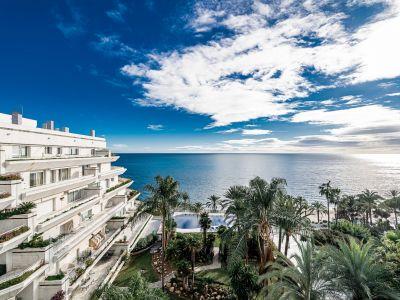Best beachfront penthouse in Marbella Center