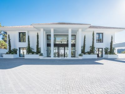 Nouvelle villa moderne à couper le souffle avec des vues imprenables à la Zagaleta