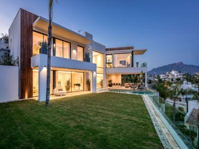 Moderne Villa mit einer wunderschönen Aussicht
