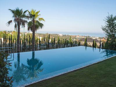 Villa de estilo contemporáneo con vistas al mar, Flamingos Golf