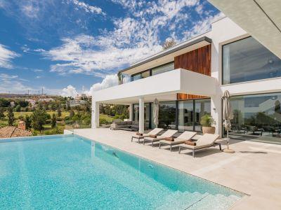 Atemberaubende moderne Villa mit fantastischem Panoramablick auf das Meer, La Alquería