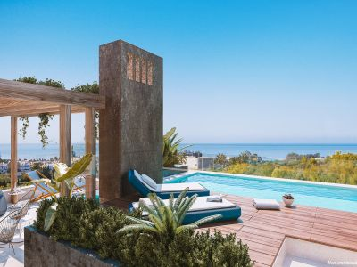 Luxury villas with panoramic views in Rio Real Marbella