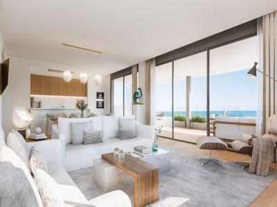 Luxury apartments with sea views in Santa Clara Golf Marbella