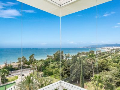 Penthouse with fabulous views of the sea and Marbella