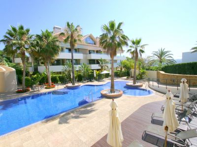 Modern garden apartment 300m from the beach