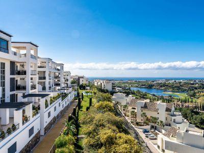 Apartment mit herrlichem Golf- und Meerblick in Flamingos Golf