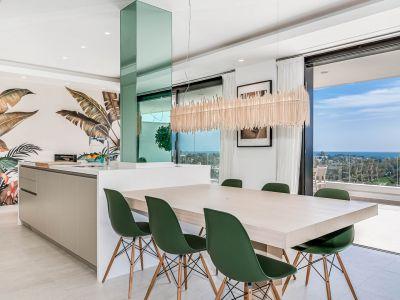 Lujoso y amplio apartamento con vistas panorámicas