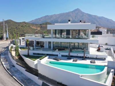 Brandneue ultramoderne Villa in Hanglage im Aloha