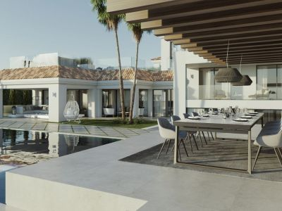 Moderne Villa in ruhiger Lage im Golftal