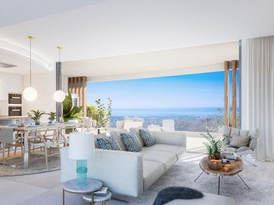 Cozy and stylish new apartment with stunning sea views