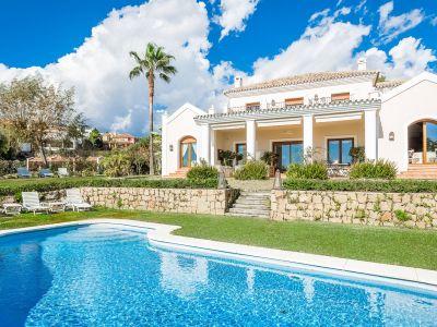 Preciosa villa tradicional con vistas al mar, Los Flamingos