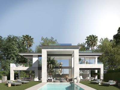 Exclusive contemporary villa project within walking distance to Puerto Banus
