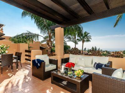 Penthaus mit Panoramablick auf das Meer Mansion Club