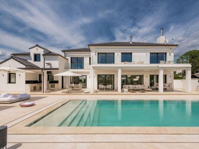 Luxusvilla in Strandlage in Marbella