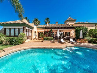 Estupenda villa familiar cerca de la playa