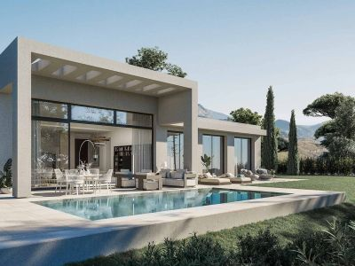 Exclusive villas with an organic concept