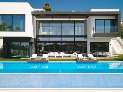 Brand-new modern villa with sensational views, La Alquería