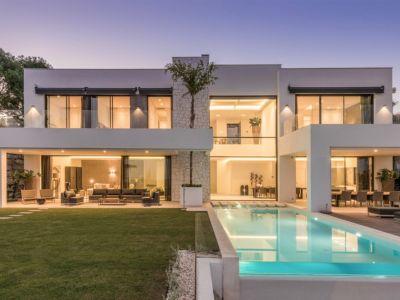 New construction - Exquisite villa with panoramic sea and mountain views, La Alquería