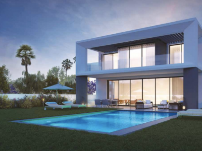 Avantgarde Villa Project in Puerto Banús - First Villa Already Built.