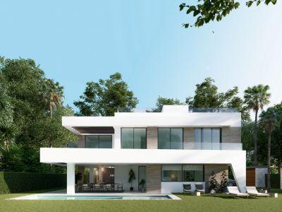 Villa nueva construcción lado playa en Elviria - Marbella Este
